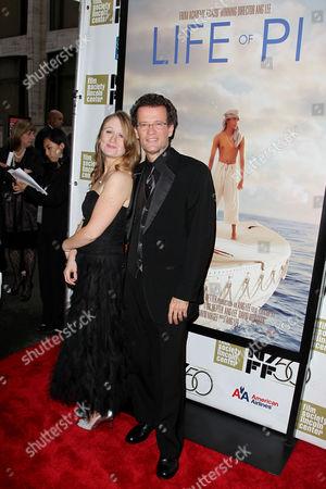 Alice Kuipers and Yann Martel