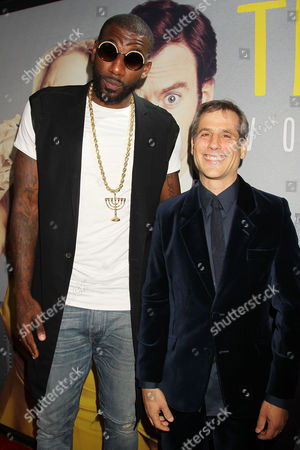 Amar'e Stoudemire and Barry Mendel