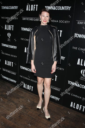 Editorial picture of 'Aloft' film screening, New York, America - 18 May 2015