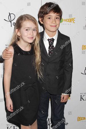 Ashley Gerasimovich and Jasper Newell