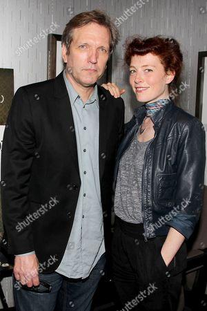 Martin Donovan and Melissa auf der Maur