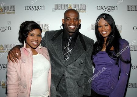 Editorial image of Kick Off Party for Oxygen Network's new reality series 'Deion and Pilar Sanders: Prime Time Love', New York, America - 14 Apr 2008