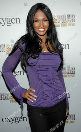 Editorial picture of Kick Off Party for Oxygen Network's new reality series 'Deion and Pilar Sanders: Prime Time Love', New York, America - 14 Apr 2008