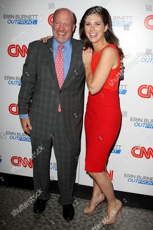 Jim Cramer and Erin Burnett