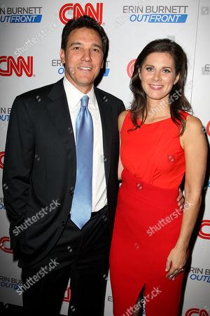 David Rubulotta and Erin Burnett