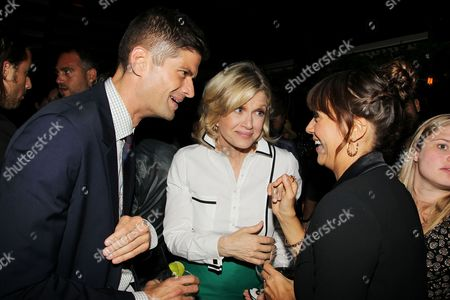 Will McCormack, Diane Sawyer and Rashida Jones