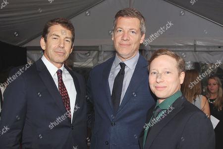 Stock Image of David Campbell Wilson (Writer), Lionel Wigram and Jeff Kleeman