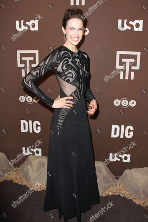 Editorial picture of USA Network's World Premiere of ''Dig'' at Capitale, New York, America - 25 Feb 2015