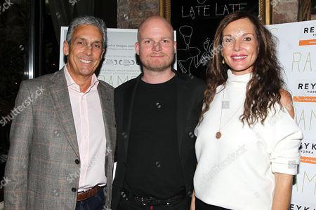 Charles Cohen, Grimur Hakonarson (Director; RAMS) and Clo Cohen