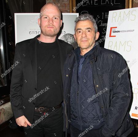 Stock Picture of Grimur Hakonarson (Director; RAMS) and Daniel Battsek
