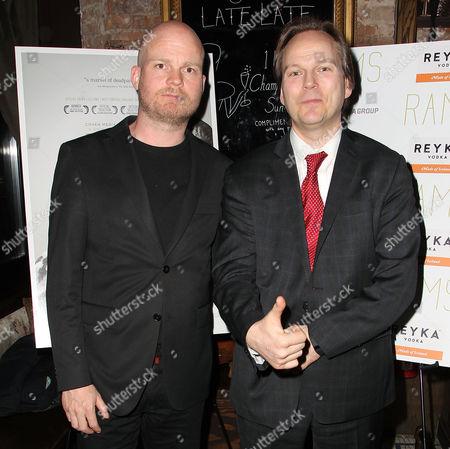 Grimur Hakonarson (Director; RAMS) and Hlynur Gudjonsson (Icelandic Consul General NY)