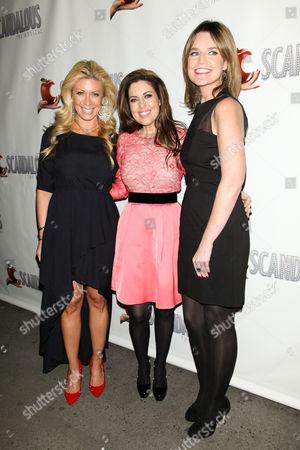 Jill Martin, Bobbie Thomas and Savannah Guthrie