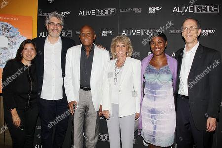 Regina Scully, Michael Rossato-Bennett (Filmmaker), Harry Belafonte, Pamela Frank, Alexandra McDougald, Dan Cohen (Music & Memory)