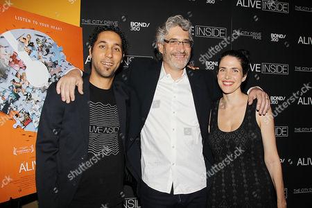 Stock Picture of Shachar Langlev (Cinematographer), Michael Rossato-Bennett (Filmmaker), Nitzan Mager