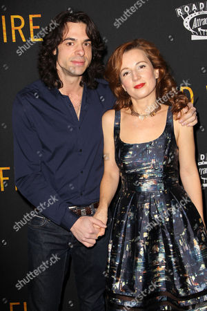 Stock Photo of Paul Dalio (Director) and Kristina Nikolova (Producer)
