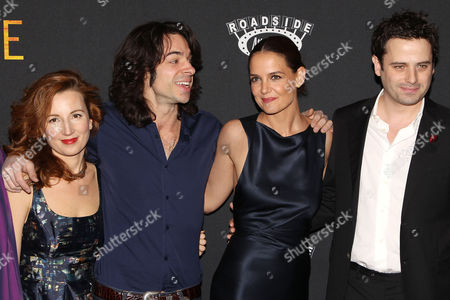 Kristina Nikolova (Producer), Paul Dalio (Director), Katie Holmes and Luke Kirby