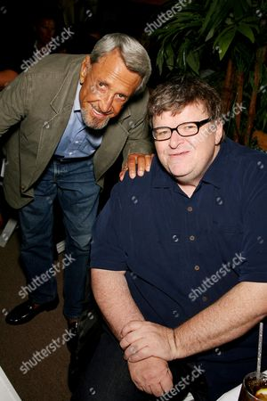 Roy Scheider and Michael Moore