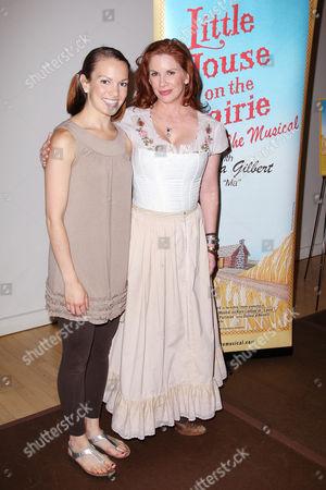 Kara Lindsay and Melissa Gilbert