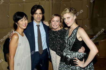 Cindy Cheung, Noah Baumbach (Director), Nancy Utley (Pres. Fox Searchlight Pictures), Greta Gerwig