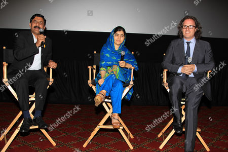 Ziauddin Yousafzai, Malala Yousafzai, David Guggenheim