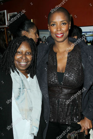 Whoopi Goldberg and Sidra Smith