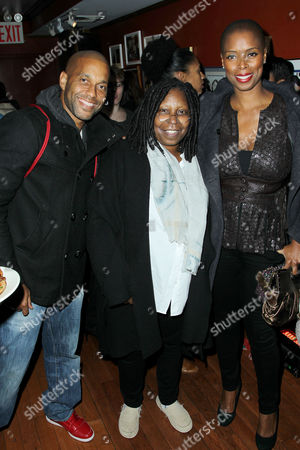 Guest, Whoopi Goldberg (Director) and Sidra Smith