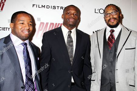 Stock Picture of Alfred Morris, Stephen Hill and William Beatty