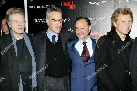 Christopher Walken, Tom Rosenberg, Fisher Stevens (Director), Jon Bon Jovi