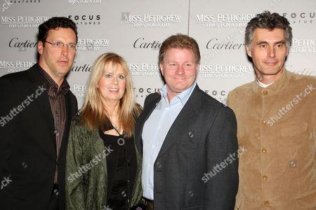 Andrew Karpen (President Focus Features), Nellie Bellflower (producer), David Magee (Screenwriter), Stephen Garrett (producer)