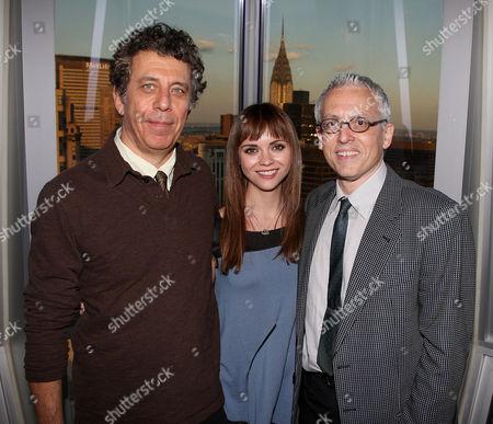 Eric Bogosian, Christina Ricci and Donald Margulies