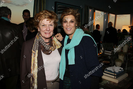 Stock Photo of Nelle Nugent and Peggy Siegal