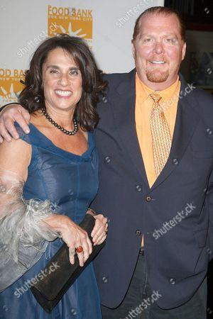 Mario Batali with wife Susi Cahn