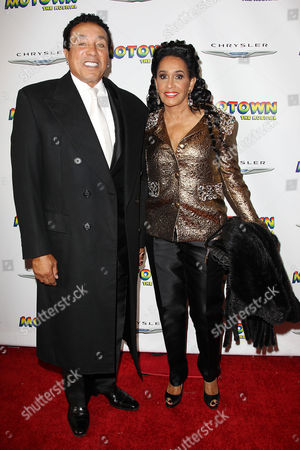 Stock Picture of Smokey Robinson and Frances Gladney