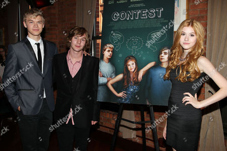 Editorial picture of Percolate Productions Host a Special Cast Screening of 'Contest', New York, America - 12 Jun 2013
