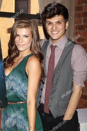 Kelley Missal and Alex Boniello