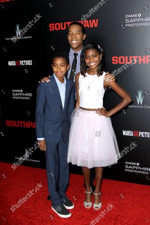 Editorial photo of 'Southpaw' film premiere, New York, America - 20 Jul 2015