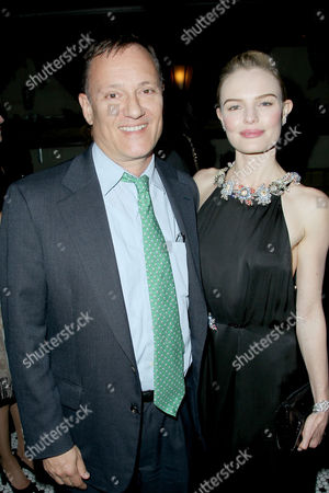 Stock Picture of George Sampas, Kate Bosworth