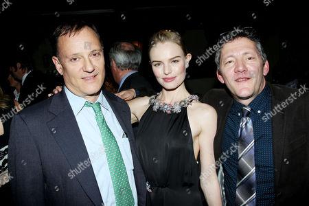 Stock Image of George Sampas, Kate Bosworth, Jim Sampas