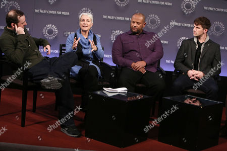 Editorial picture of 'Justice League: Throne Of Atlantis' film discussion, New York, America - 26 Jan 2015