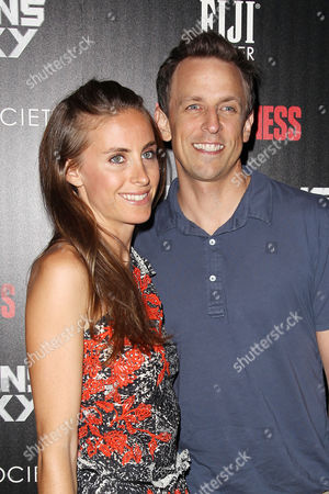 Alexi Meyers and Seth Meyers