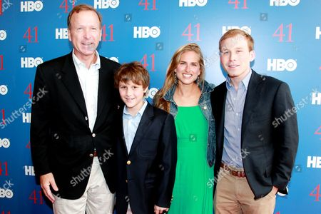 Neil Bush, Alexander Andrews, Ashley Bush and Pierce Bush