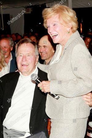 George H.W. Bush and Jane Morgan