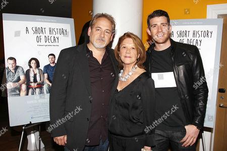 Stock Image of Michael Maren, Linda Lavin and Bryan Greenberg