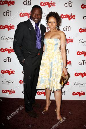 Stock Image of Tamara Tunie and husband Gregory Generet