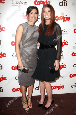 Stock Photo of Pilar Guzman (Editor in Chief of Cookie Magazine) and Debra Messing