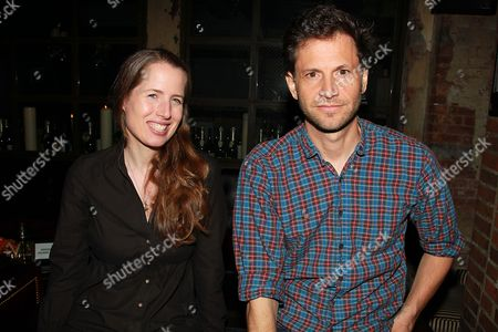 Stock Picture of Kristin Gore and Bennett Miller