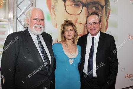 Jeff Blake, Amy Pascal and Tommy Lee Jones