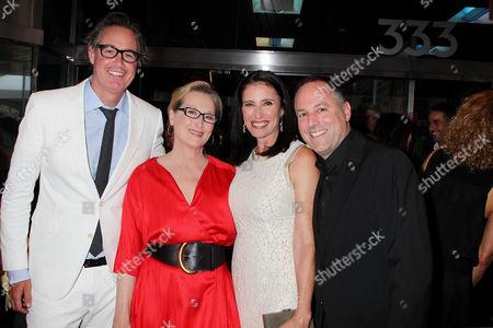 Guymon Casady, Meryl Streep, Mimi Rogers and Todd Black