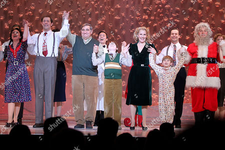 Editorial picture of 'A Christmas Story: The Musical' opening night, New York, America - 12 Dec 2013