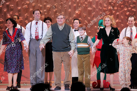 Editorial photo of 'A Christmas Story: The Musical' opening night, New York, America - 12 Dec 2013